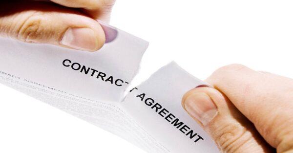 موارد فسخ قرارداد حواله
