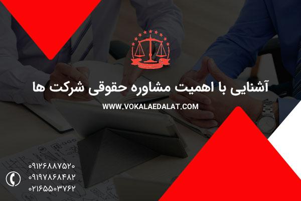 اهمیت مشاوره حقوقی با وکیل دادگستری برای شرکت ها