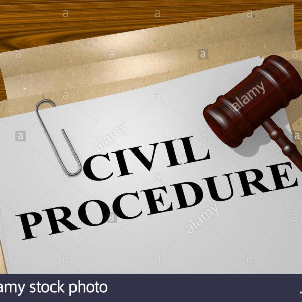 جزوه آیین دادرسی مدنی